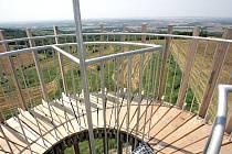 Výhled z Akátové věže.