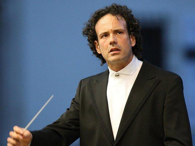 Stávající šéfdirigent Filharmonie Brno Aleksandar Marković.