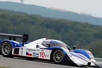 Vůz Lola Aston Martin zajel nový rekord Masarykova okruhu.