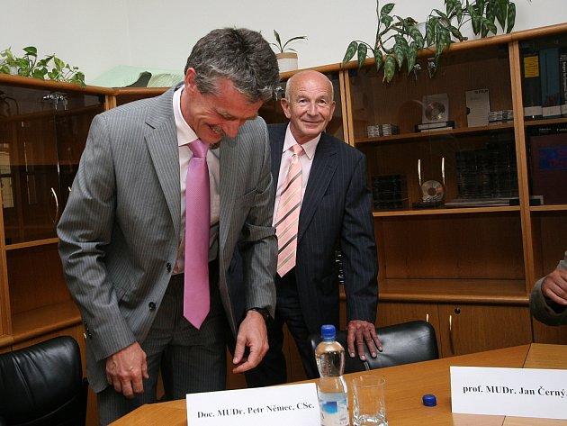 Petr Němec a Jan Černý