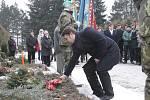 Brněnského rodáka a velitele paraskupiny Wolfram Josefa Otiska uctili ve středu odpoledne na brněnském hřbitově v Líšni.