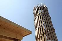 Akátová věž na kopci Výhon v brněnských Židlochovicích.