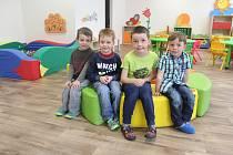 Žáci ze třídy Zelený kamínek