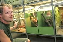PRVNÍ DOMOV. Chovat plazy je věda. Začíná při tvoření páru zvířat a pečlivém hlídání líhnutí jejich potomků.