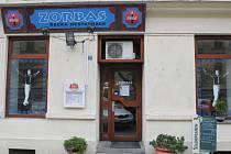 Řecký restaurant Zorbas.