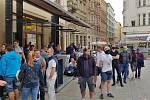 Brno 13.5.2020 - omezený provoz na zahrádkách v době koronavirových opatření