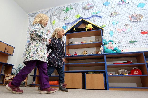 Slavnostní otevření nové mateřské školky v brněnském Komíně postavené modulovou technologií.
