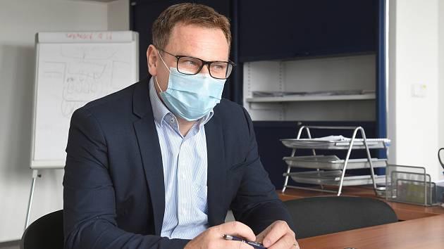 Vlastimil Vajdák, ředitel Fakultní nemocnice u sv. Anny v Brně.