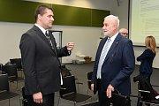 Setkání s hejtmanem v brněnském VIDA centru