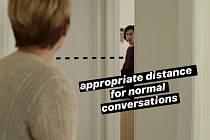 """""""Vhodná vzdálenost pro běžné konverzace."""""""