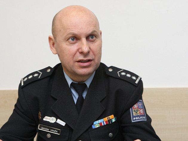 Náměstek jihomoravského policejního ředitele Jaroslav Vaněk.