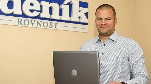Starosta Brno-střed Martin Landa při online rozhovoru.