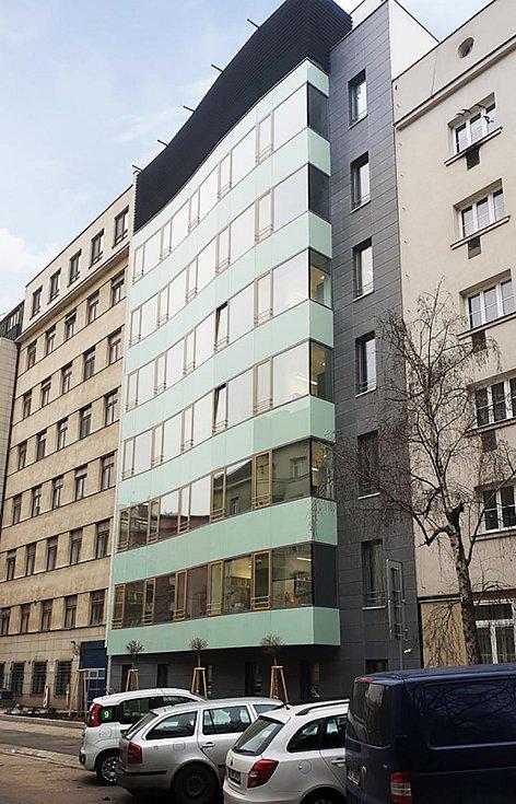 Demolice a následná výstavba budovy v ulici Bayerova v Brně, 2. místo v kategorii Stavby občanské vybavenosti.