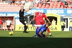 4. kolo FORTUNA:LIGY: FC Zbrojovka Brno (červená - Přichystal) - SK Sigma Olomouc 2:4.