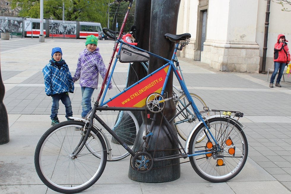 Jarní cyklojízda Brnem 2017.