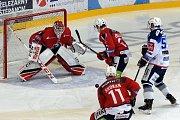 18. kolo Tipsport extraligy ledního hokeje mezi domácí Kometou Brno a Dynamem Pardubice