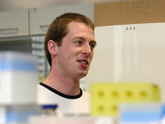 Jedenadvacetiletý Michal Jež patří mezi nejnadanější studenty biologie na Přírodovědecké fakultě Masarykovy univerzity.