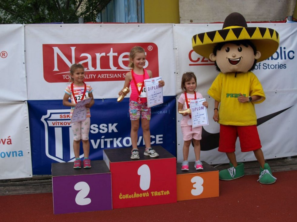 Krajské finále Čokoládové tretry v Brně.