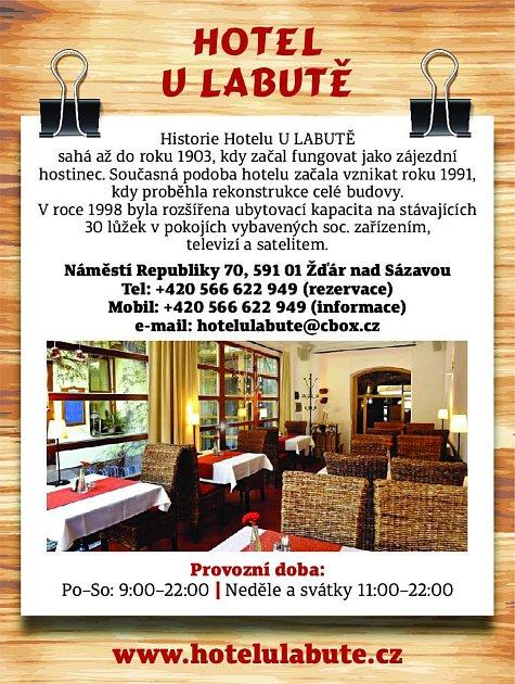 40. Hotel uLabutě Žďár nad Sázavou