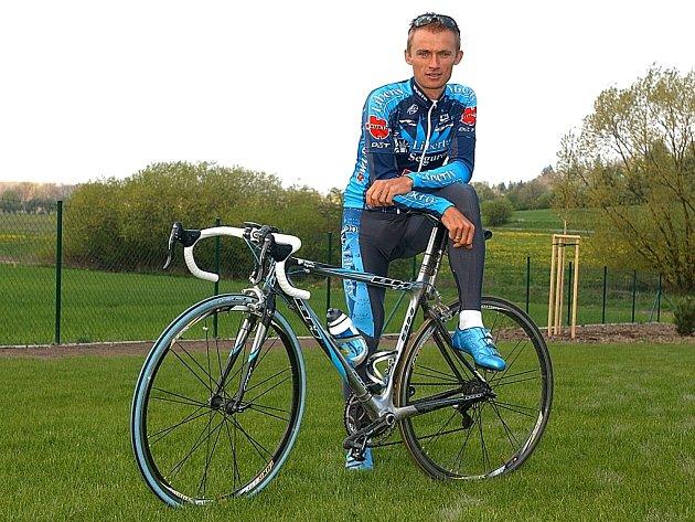 Jeden z favoritů šampionátu Jan Hruška