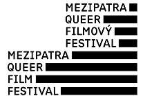 Nové logo gay a lesbického filmového festivalu Mezipatra.