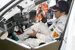 Víkendový závod - mistrovství světa cestovních vozů na brněnském Masarykově okruhu.