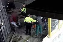 Celostátně hledaný muž napadl v centru Brna policistu