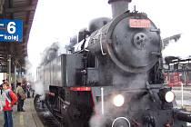 Ilustrační: historický vlak