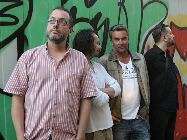 Josef Polášek, Pavel Liška, Tomáš Matonoha a Marek Daniel.