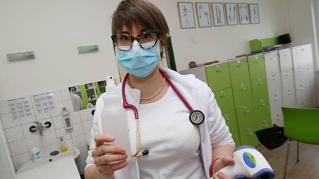 Praktická lékařka. Ilustrační foto.