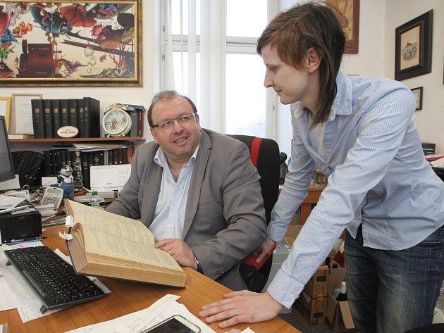 Redaktorka Brněnského deníku Rovnost Lenka Grabcová si na jeden den vyzkoušela práci právničky.