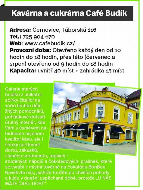 Café Budík, Černovice