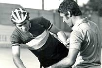 Cyklista Dukly Brno Michal Klasa.