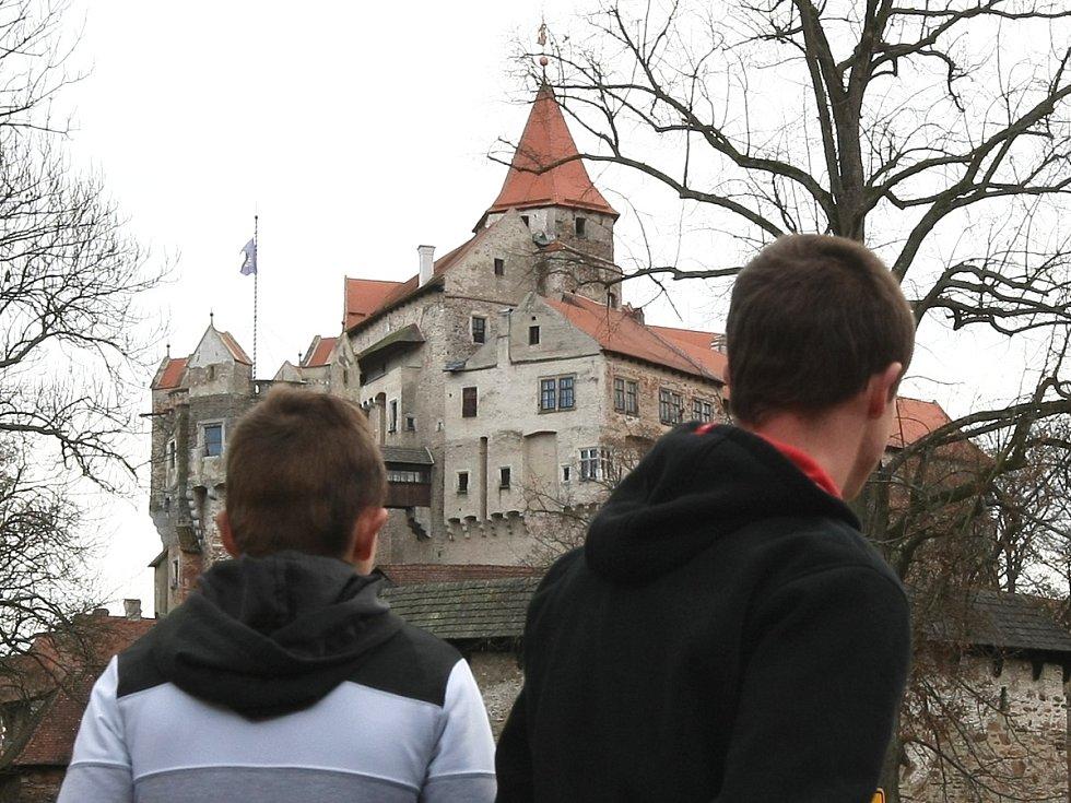 Poslední víkend na hradě Pernštejn.