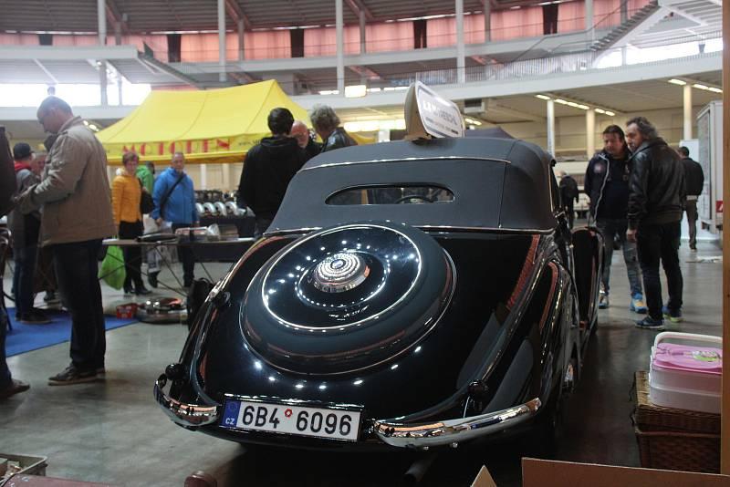 Tradiční podzimní MotorTechna se konala v sobotu na brněnském výstavišti.