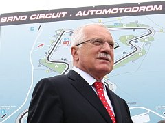 Prezident Klaus navštívil jižní Moravu.