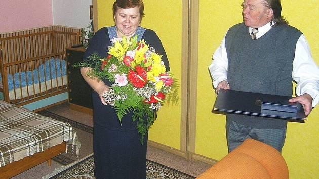 Manželé Rosnerovi ze Slavkova u Brna.