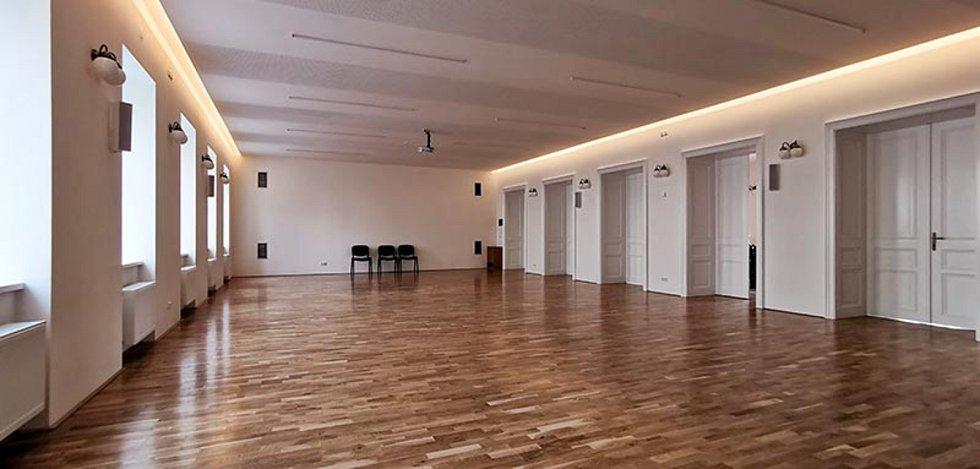 Dostavba a nástavba sportovní haly Orel Šlapanice, 3. místo v kategorii Stavby občanské vybavenosti.