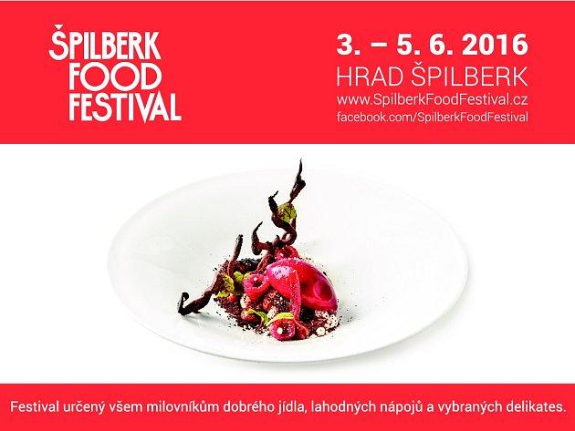Špilberk Food Festival láká na gastronomické pochoutky.