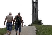 Akátová věž v Židlochovicích na Brněnsku.
