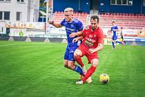 3. kolo Mol Cupu: Zbrojovka Brno (červená) - Vysočina Jihlava 1:0.