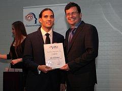 Ocenění Nejinovátora Jihomoravského kraje získala brněnská firma Flowmon Networks. Jejím obchodním ředitelem je Petr Špringl(na snímku vlevo).