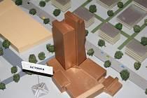 Model Jižního centra z roku 2005 přestěhovalo město ze sídla Brněnských komunikací v Renneské třídě.