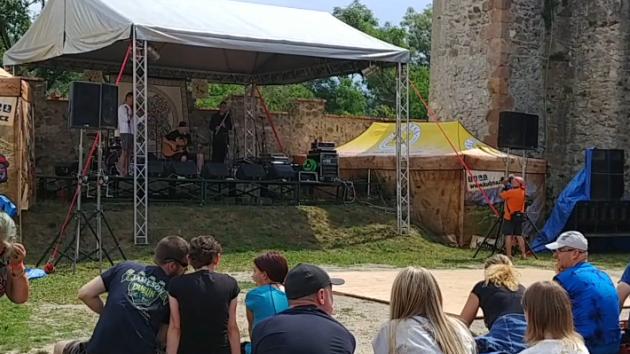 Na hradě Veveří se konal keltský hudební festival Lughnasad.