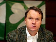 Ministr životního prostředí Martin Bursík.