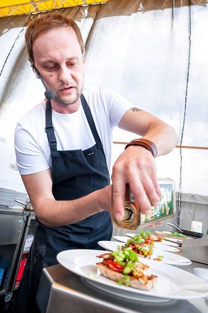 Šéfkuchař Marcel Ihnačák.