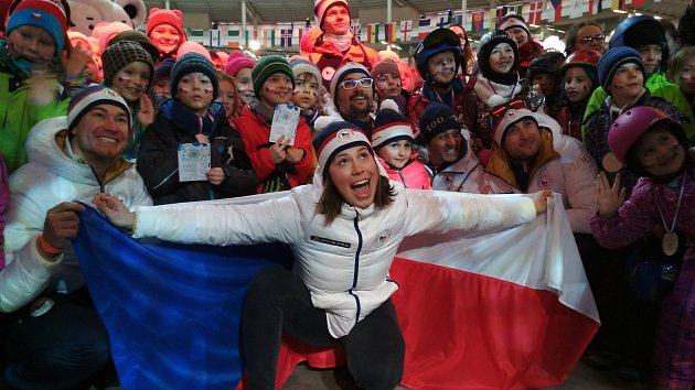 První medaile v Brně. Samková přivezla bronz a vyzkoušela si pumptrack