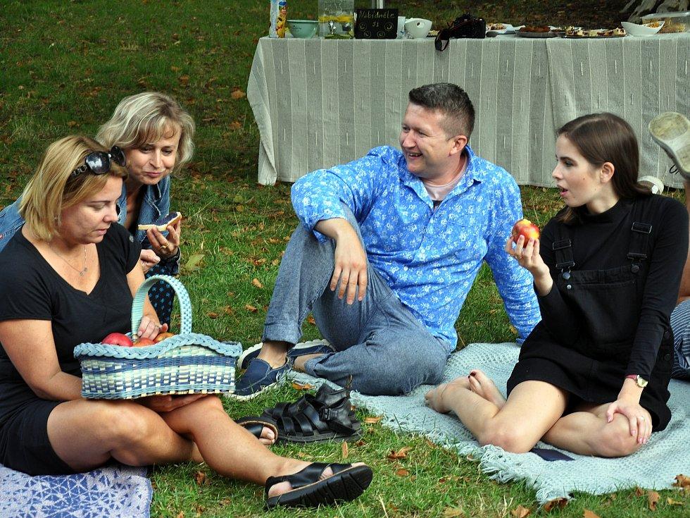 Akce Česko jde spolu na piknik vyzvala lidi z různých míst naší země, aby pořádali ve stejný čas piknik. Na snímku setkání v Zámecké zahradě v teplicích roku 2019.