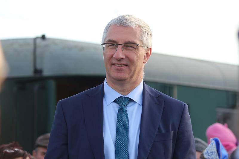Starosta Židlochovic Jan Vitula.