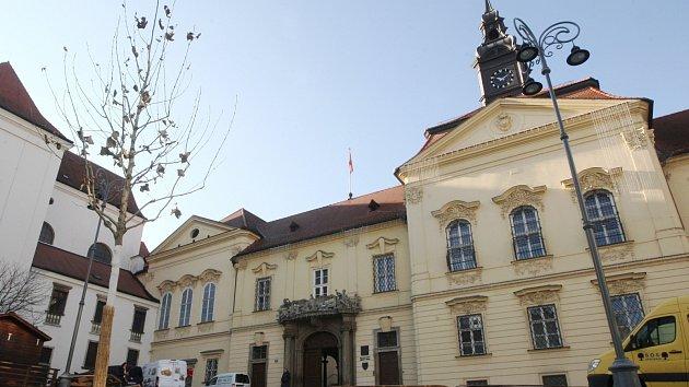 Otevřené zrekonstruované Dominikánské náměstí v Brně.
